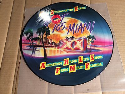 V/a - Hot 105 Fm Miami - A Smashing Radio Live Show - Picture-Lp - Tsr B-8614 A
