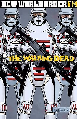 Walking Dead #175 Comic Book Image Skybound  New World Order