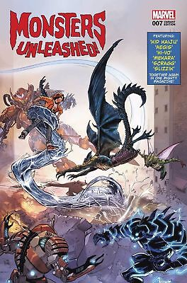 Monsters Unleashed #7 Marvel Variant Lenticular  2017 Nm Legacy  Comic Book