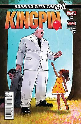 Kingpin #2 Regular Dekal Rosenberg Marvel Comic Book NM jj