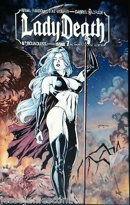 Lady Death #7 Ltd Baltimore Variant Andrade Pulido Boundless Coffin Comic  bp9