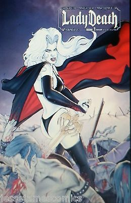 Lady Death #1 Ltd Auxiliary Variant Pulido Boundless Coffin Comic Book  bp9