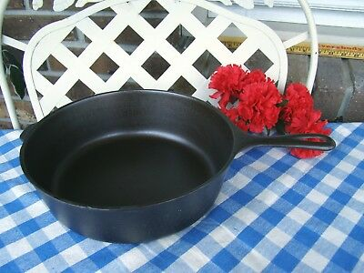 Wagner Ware Sidney -O- Cast Iron Deep Skillet - #1088 – #8 - Cleaned & Seasoned
