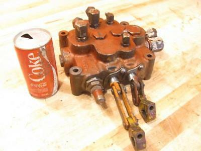 Nice Used 2 Spool Hydraulic Tractor Front End Loader Valve