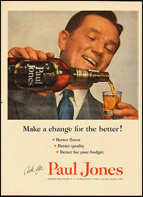 1953 Vintage ad for Paul Jones Blended Whiskey (021413)
