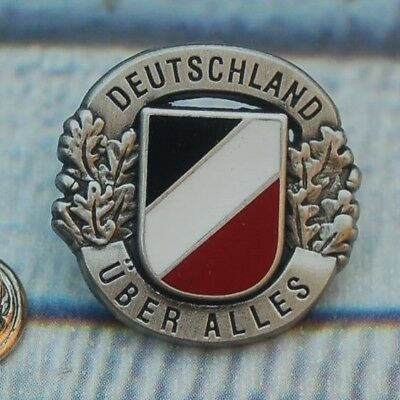 DEUTSCHLAND ÜBER ALLES Military Pin Button Badge Anstecker Anstecknadel # 353