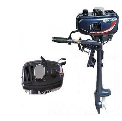 Hot Sale 2HP Outboard Motor Boat Engine 2 Stroke With Water Cooling System