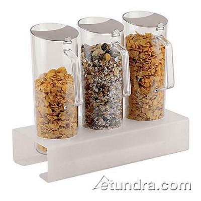World Cuisine - 41918-04 - 3 Cereal Jugs w/Tall Holder