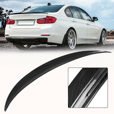 Carbon Fiber Rear Trunk Spoiler For 12-Up BMW F30 3-Series 4Dr Performance Style