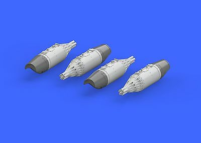EDUARD BRASSIN 672140 UB-32A-24 Rockets Pods for Eduard/Zvezda Kit Mi-24 in 1:72