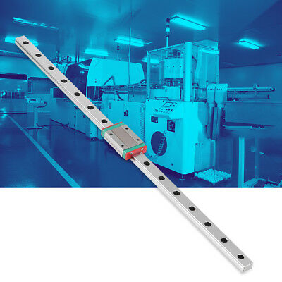 Miniature Linear Slide Rail Guide+ Slide Block DIY CNC 3D Printer 25-55cm gbd