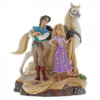 Disney Traditions Live Your Dream Tangled  Figurine 4059736