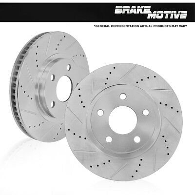 Front 288 mm Brake Disc Rotors Mercedes Benz C230 C240 C280 E300 SLK230