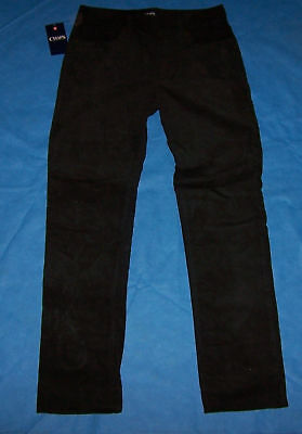 Size 16  Boys Chaps Corduroy Pants (Black)