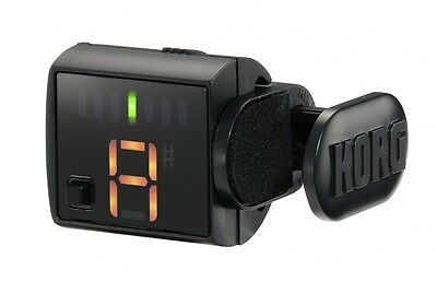 Korg Griptune Clip-On Tuner Accordeur, Chromatic pour Guitare et Basse