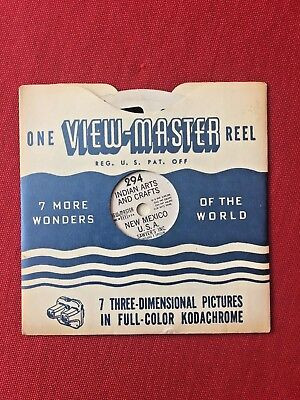 Indian Arts and Crafts New Mexico 1948 View-Master Single Reel 294