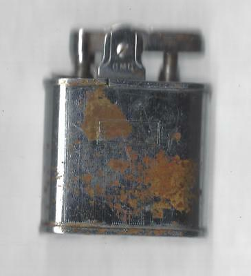 Vintage CMC Lighter w/ Risible Wind guard. Sparks Well, Working Condition