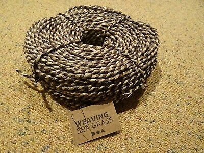 Seegras Weben 50389 SEA GRASS WEAVING 500G BROWN THICKNESS 3,5 - 4 MM