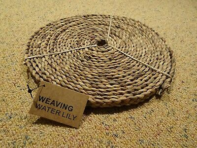 Seerose Weben 50393 WEAVING Water lily cord, W: 14-16 mm, approx. 10 m, 250g