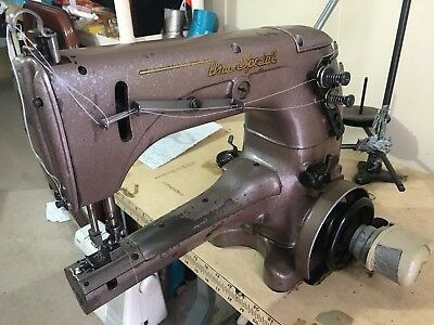Union special Up The Arm Cylindar Coverstitch Industrial Sewing Machine