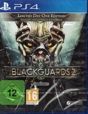 Blackguards 2 - Limited Day One Edition - PlayStation PS4 - deutsch - Neu / OVP
