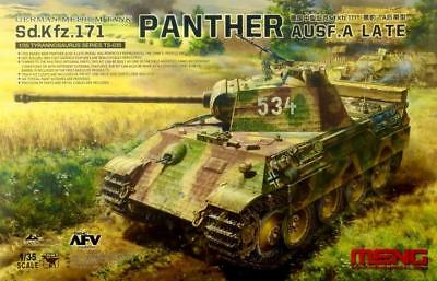 MENG MODEL TS-035 WWII German Sd.Kfz.171 Panther Ausf.A Late in 1:35