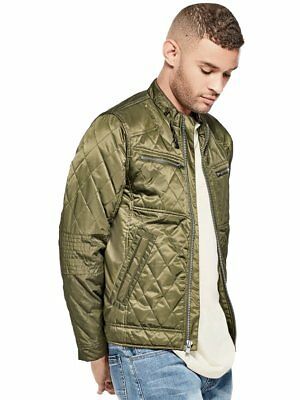 G By Guess Men's Contour Quilted Jacket