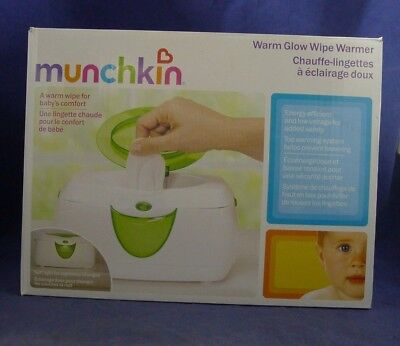 Munchkin MCKTP-0127 Warm Glow Wipe Warmer NEW