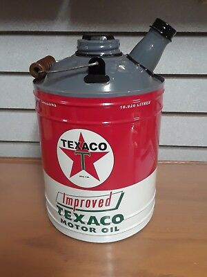 Texaco Replica  Gas Can, Display Only Does Not Open $28.00 Free Shipping