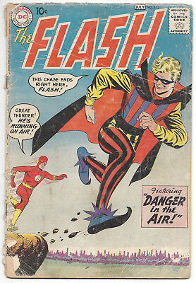 The Flash #113 (GD) 1964, origin and 1st appearance The Trickster