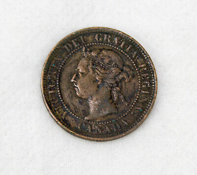 1894 Canada Large Cent Coin