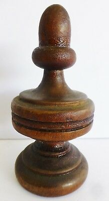 Antique Wood Finial UNKNOWN