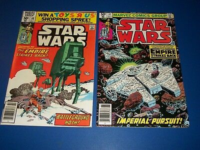 Star Wars #40,41 Bronze age Lot of 2 Empire Strikes Back Fine+/VF+ Beauties Wow