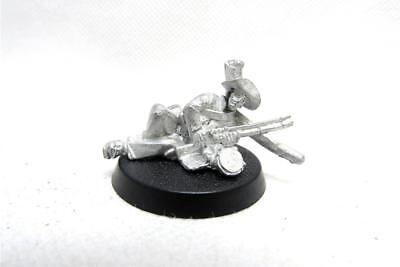 Tabletop Historical ACW American Civil War Solider With Musket Metal (w1128)