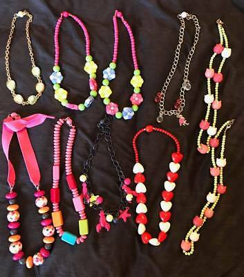 EUC New Great condition Used Gymboree mixed lot necklace