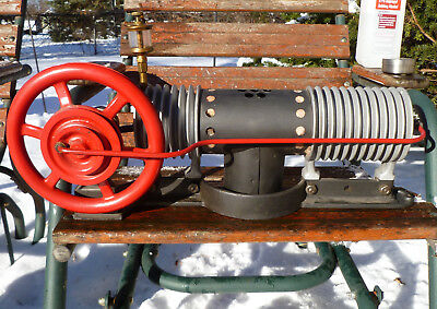 Essex Hot Air Engine Antique WH Smith Mfg Model A