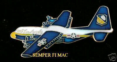 C-130 Hercules Lapel Hat Pin Us Navy Blue Angels Fat Albert Airlines Marines Wow