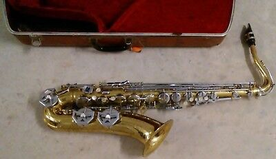 Dolnet Tenor Saxophone Made in Paris France with Original Case