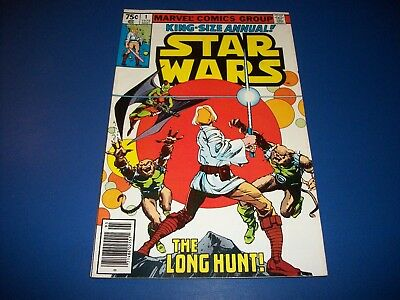 Star Wars King Size Annual #1 Bronze Age FVF Beauty Wow