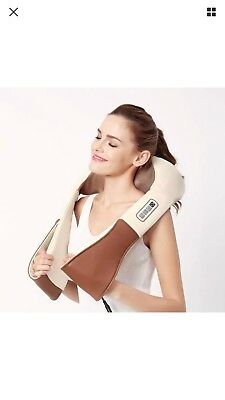 Tekjoy Massager With Heat - Great for Neck, Back, Shoulder A/C and Car Adapter