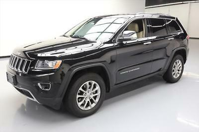 2015 Jeep Grand Cherokee Limited Sport Utility 4-Door 2015 JEEP GRAND CHEROKEE LTD 4X4 HTD SEATS SUNROOF NAV #215953 Texas Direct Auto