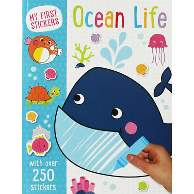 My First Stickers - Ocean Life - Sticker Book (Paperback), Children's Books, New
