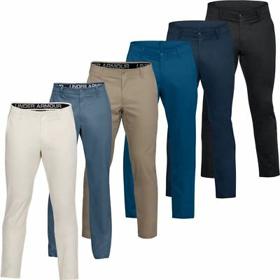 Under Armour 2018 UA Showdown Tapered Chinos Mens Stretch Flat Golf Trousers