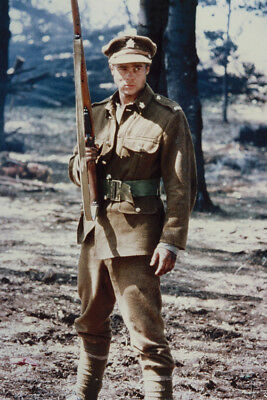 Legends Of The Fall Brad Pitt In Army Uniform Holding Rifle 24X36 Poster Print