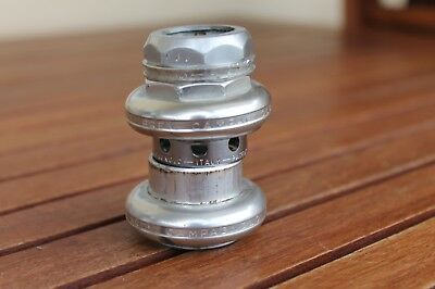 "NO RESERVE Campagnolo serie sterzo SUPER RECORD h/set 1"" ITA for Masi, Colnago"