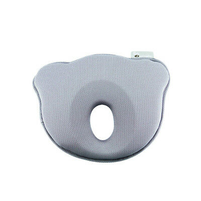 B-Cosy Ergonomic Anti Flat Head  Baby Pillow & Neck Support Infant Cushion- Grey