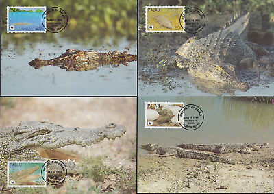052640 WWF Reptilien Reptils Palau Maximum Card ´s