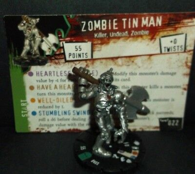 HORRORCLIX  Zombie Tin Man #022 W/CARD NIGHTMARES