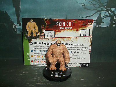 "HORRORCLIX Skin Suit #52 ""NEW"" W/CARDS NIGHTMARES"