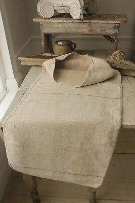 GRAINSACK hemp grain sack hemp linen grain sack WASHED HEAVY TWILL